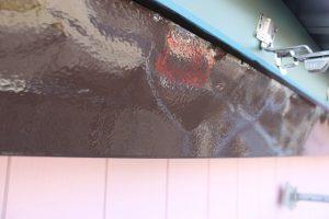 川越市 破風板塗装